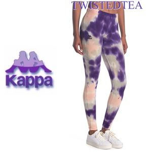 💜 NWT Authentic Kappa marble leggings size L